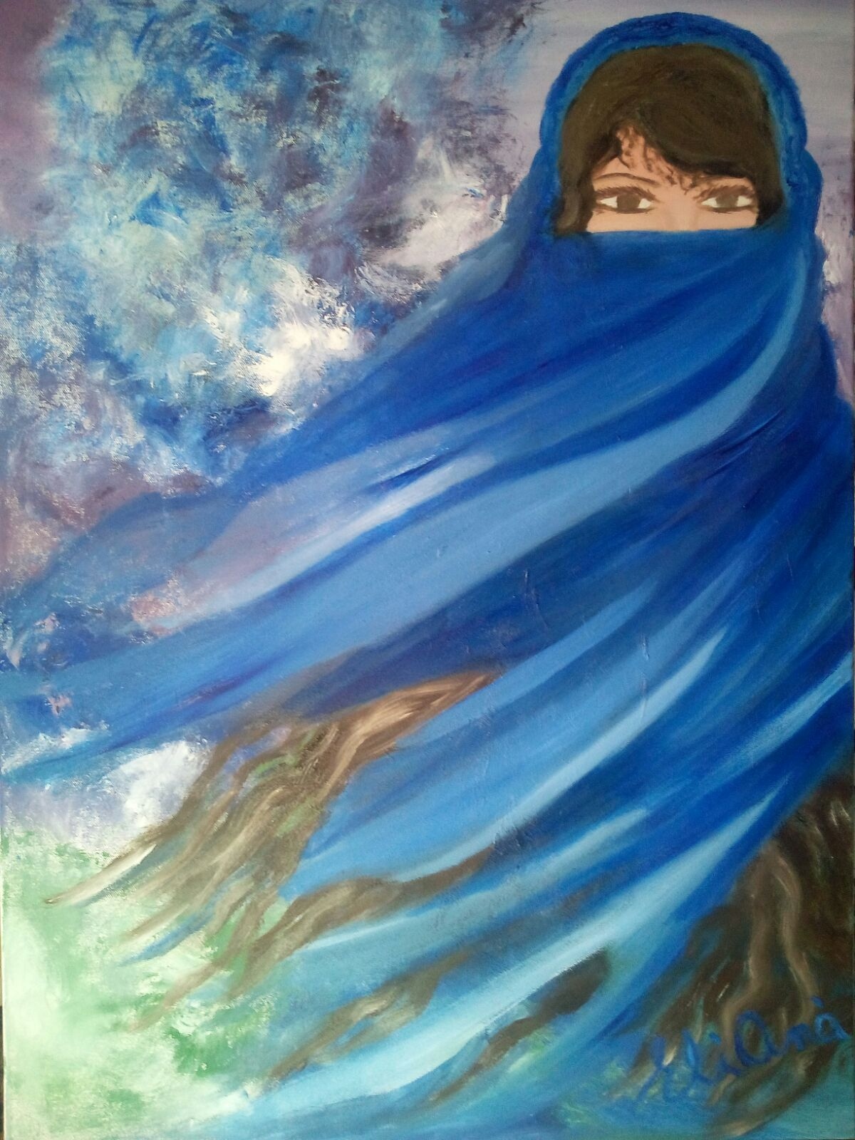 Rebekah's Veil - Painting The Torah